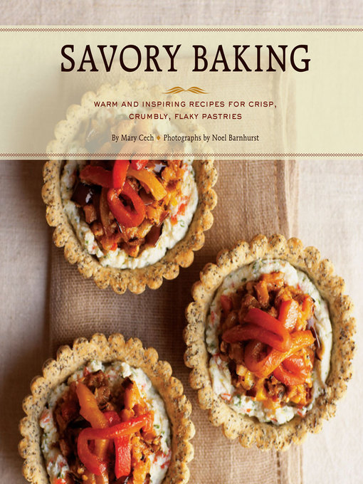 Title details for Savory Baking by Mary Cech - Available