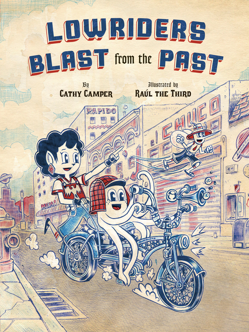 Cover of Lowriders Blast from the Past
