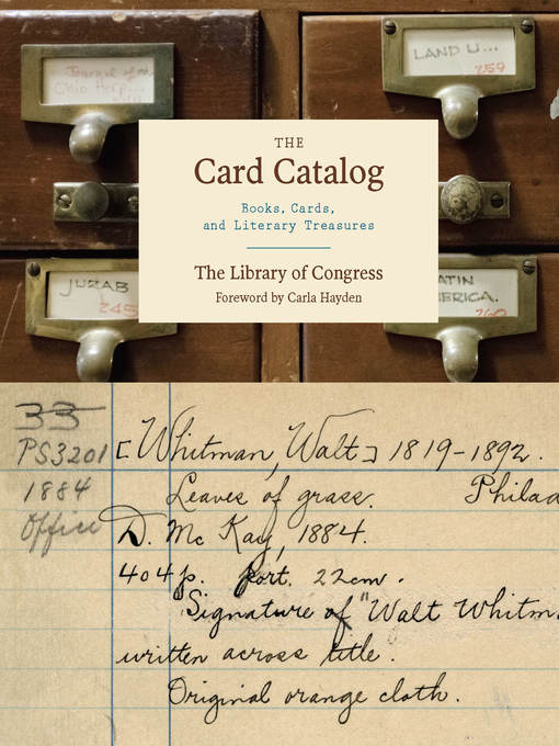 Title details for The Card Catalog by Carla Hayden - Available