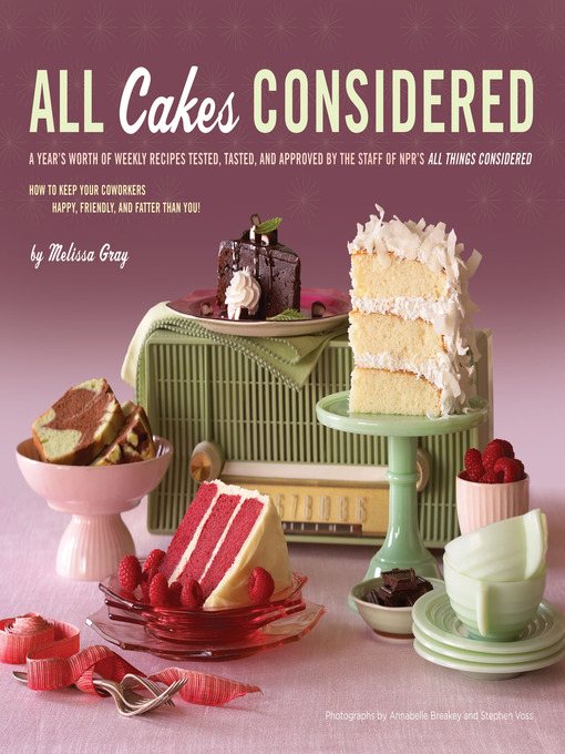 Title details for All Cakes Considered by Melissa Gray - Wait list