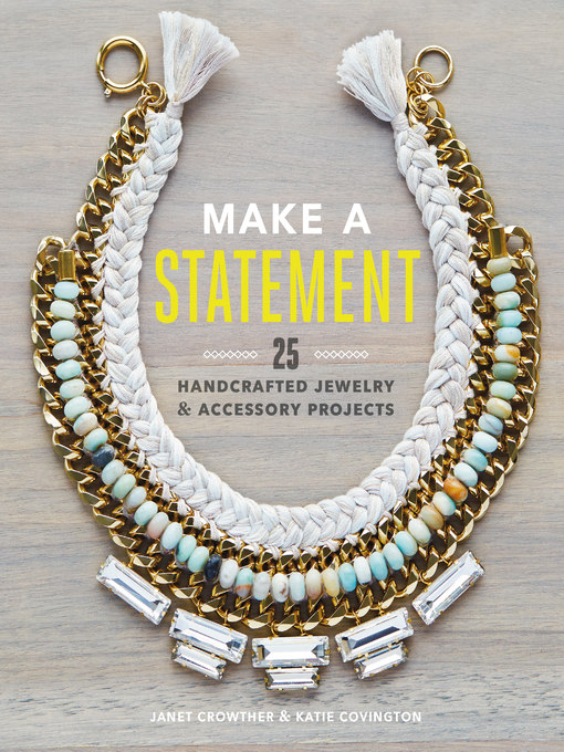 Title details for Make a Statement by Janet Crowther - Wait list