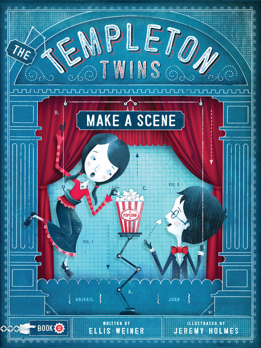 Title details for The Templeton Twins Make a Scene by Ellis Weiner - Available