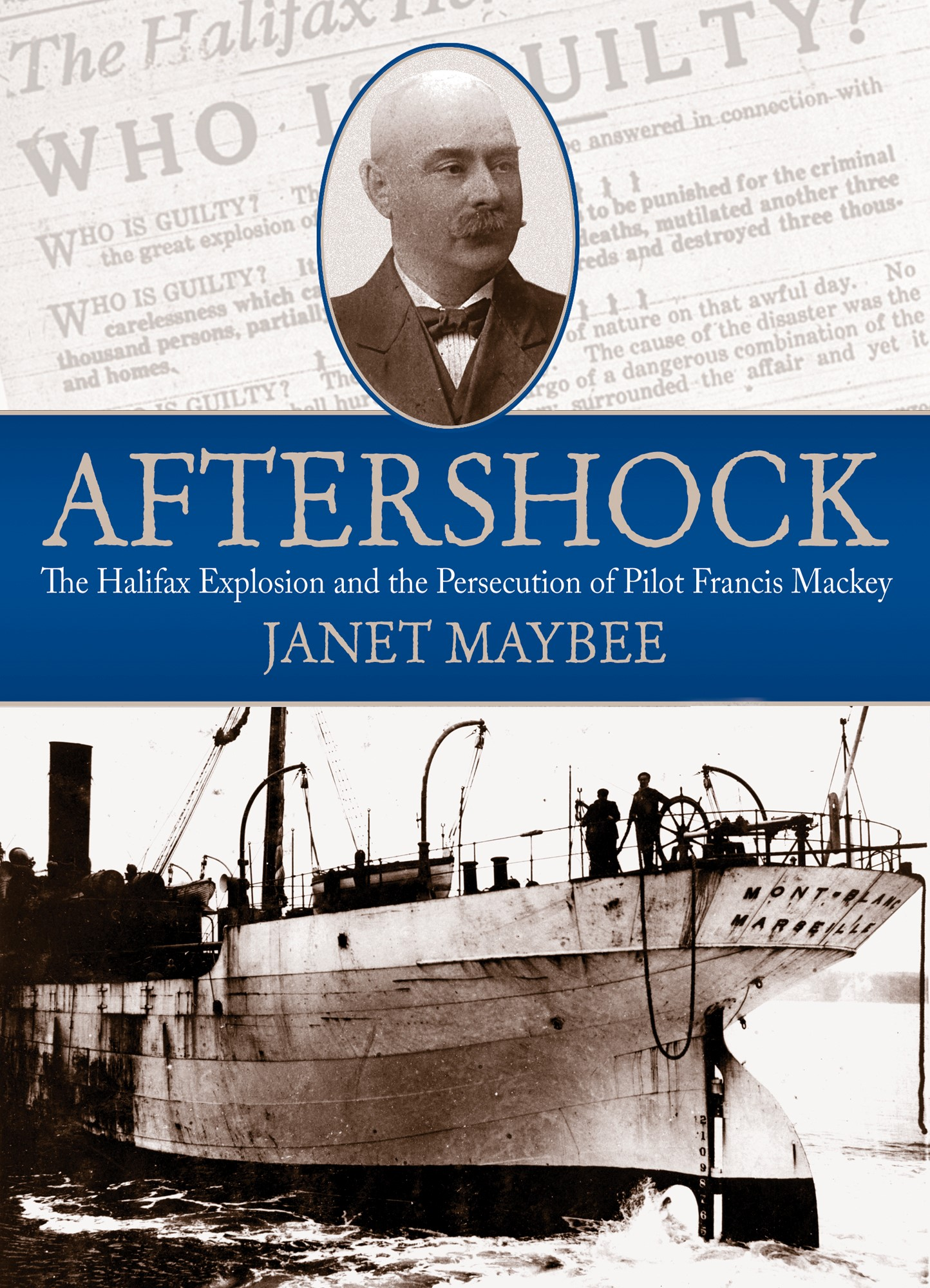 Title details for Aftershock by Janet Maybee - Wait list
