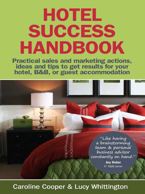 Title details for Hotel Success Handbook by Lucy Whittington - Available
