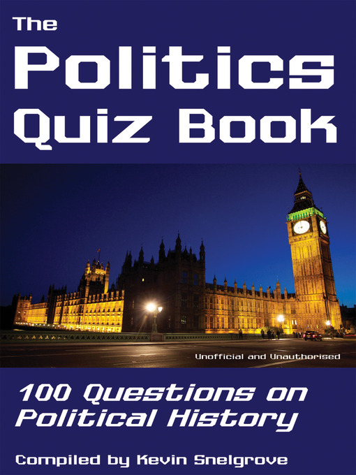 Cover of The Politics Quiz Book