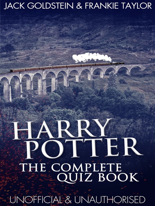 Harry Potter Book Quiz : Harry potter the complete quiz book fraser valley