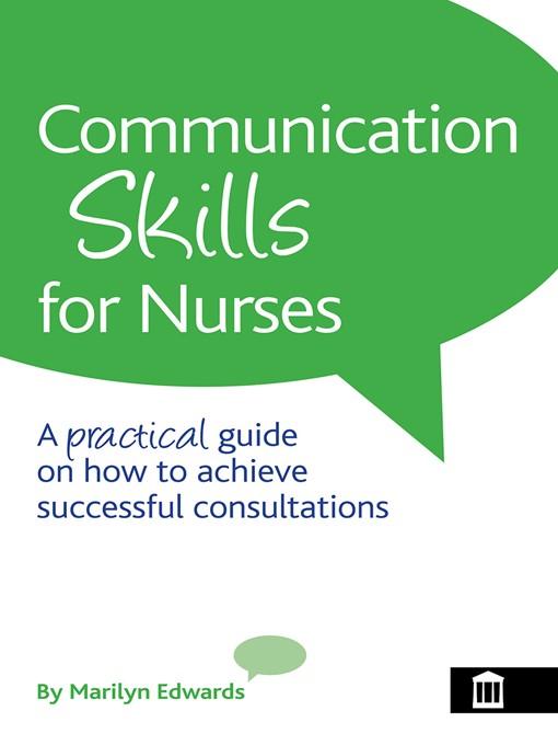 nurse communication skills essay