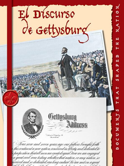 Title details for El Discurso de Gettysburg (The Gettysburg Address) by David Armentrout - Available