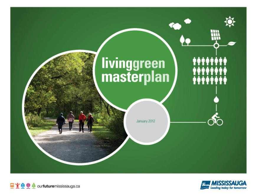 Title details for Living Green Master Plan by City of Mississauga - Available