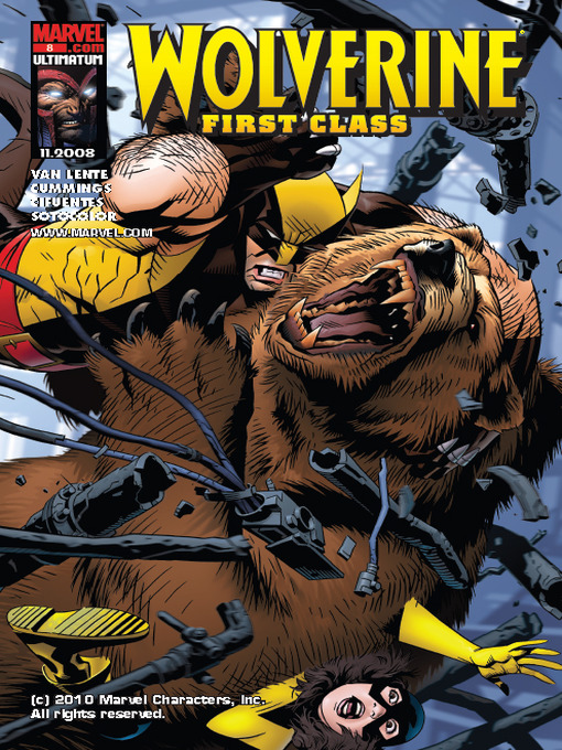 Title details for Wolverine First Class, Issue 8 by Salvador Espin - Wait list