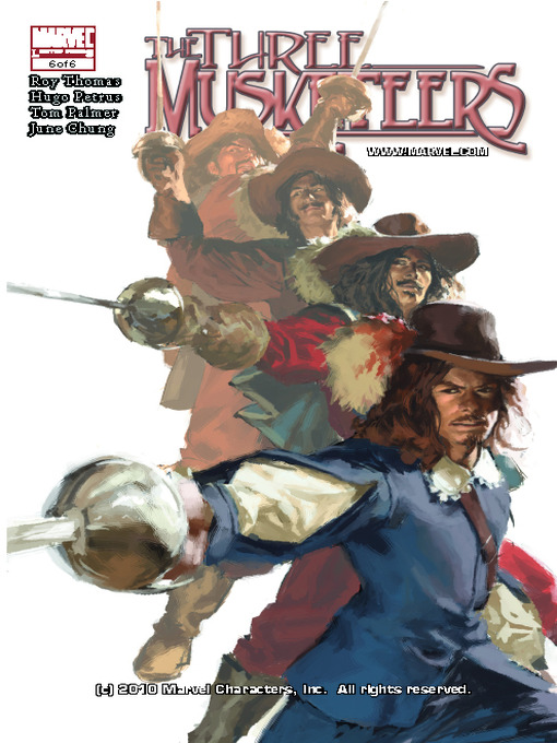 Cover of Marvel Illustrated: The Three Musketeers, Part 6