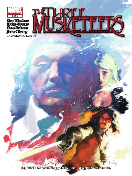 Cover of Marvel Illustrated: The Three Musketeers, Part 4