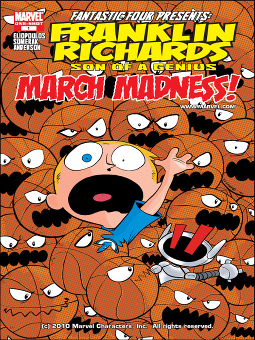 Cover of Franklin Richards: March Mardness