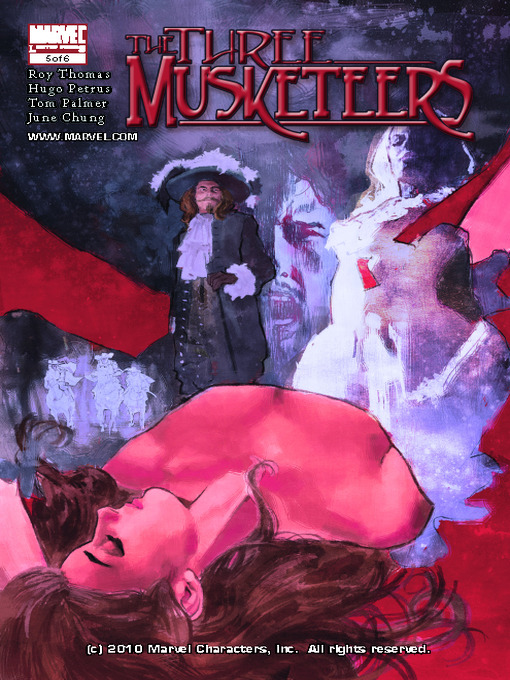 Cover of Marvel Illustrated: The Three Musketeers, Part 5