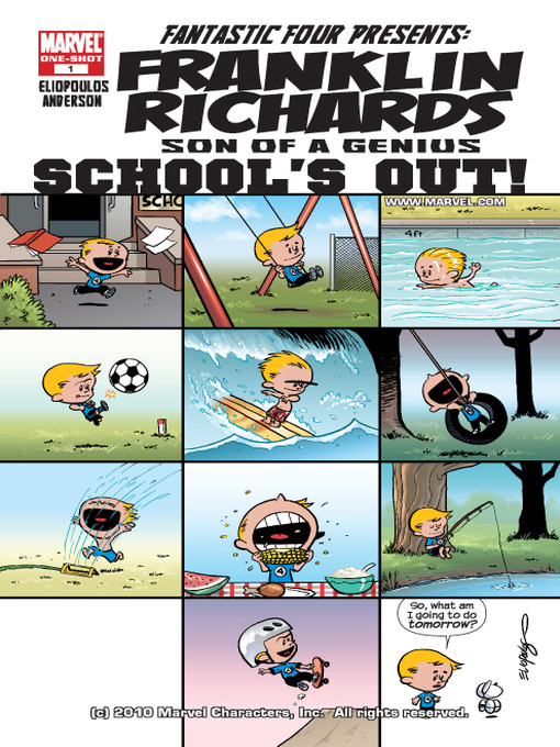 Cover of Franklin Richards: Schools Out