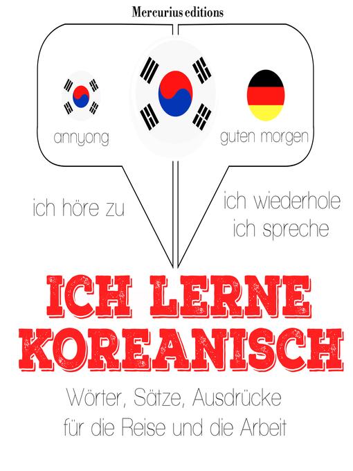 Hinsegin Ich Lerne Koreanisch Rafbókasafnið Overdrive