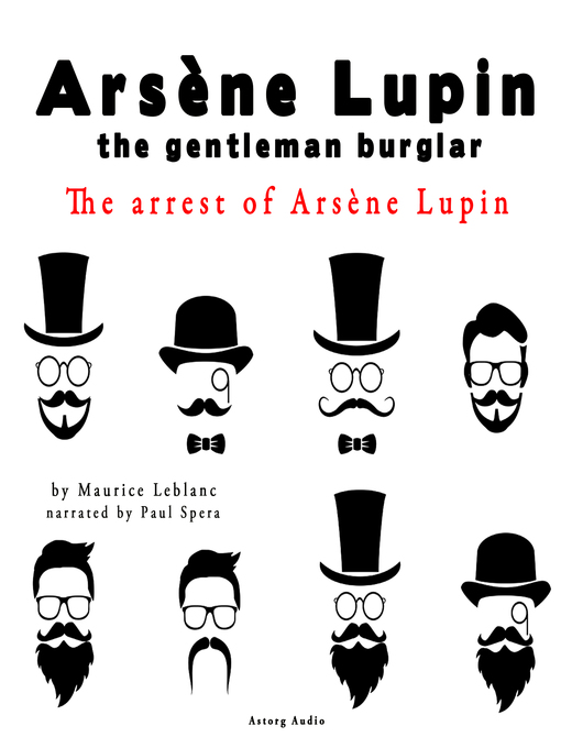 Cover of The Arrest of Arsene Lupin