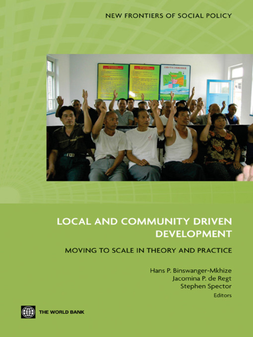 Title details for Local and Community Driven Development by Hans P. Binswanger-Mkhize - Available