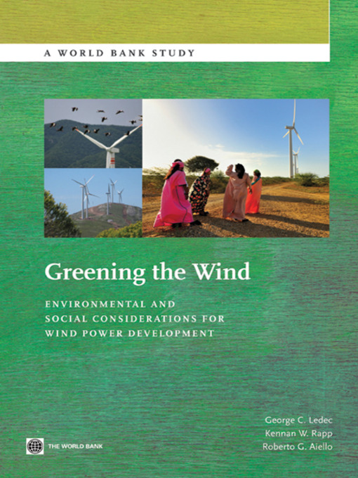 Title details for Greening the Wind by George C. Ledec - Available