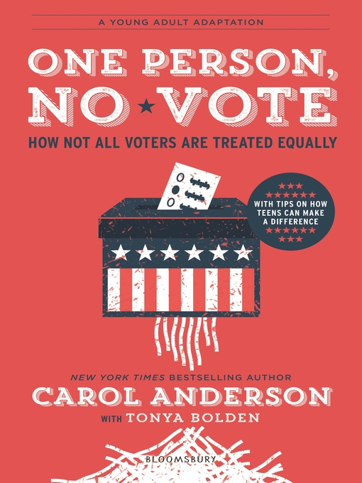 Title details for One Person, No Vote by Carol Anderson - Available