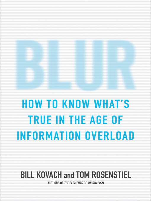 Title details for Blur by Bill Kovach - Wait list