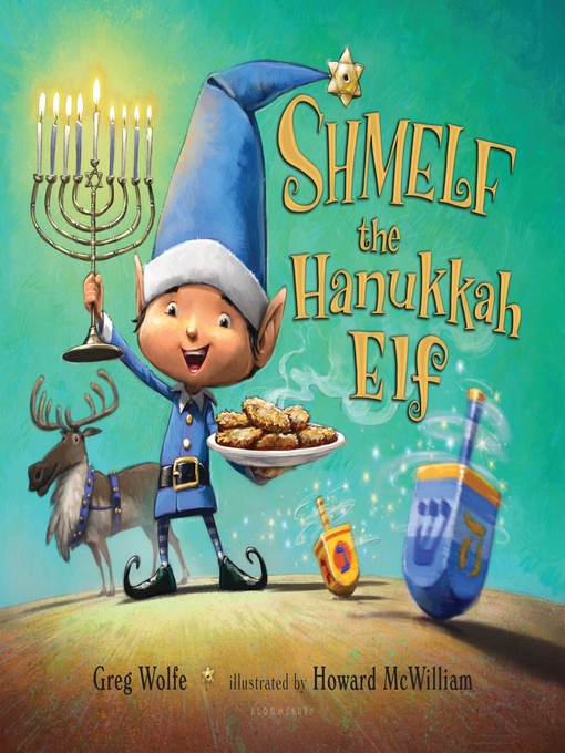 Cover of Shmelf the Hanukkah Elf