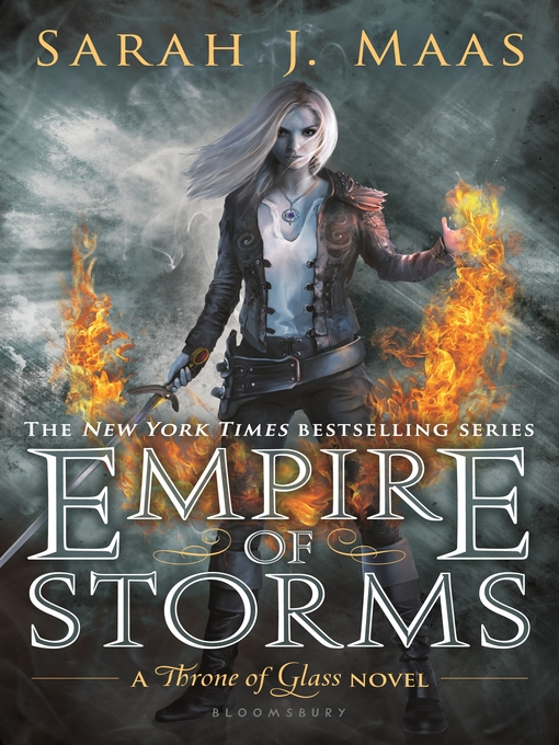 Title details for Empire of Storms by Sarah J. Maas - Wait list