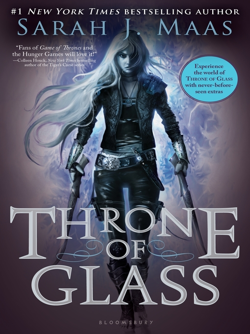 Cover of Throne of Glass