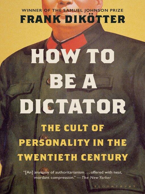 Title details for Dictators by Frank Dikötter - Wait list