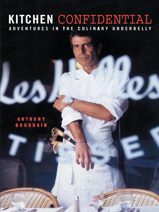 Cover image for Kitchen Confidential