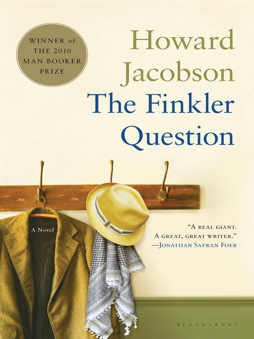 Title details for The Finkler Question by Howard Jacobson - Wait list