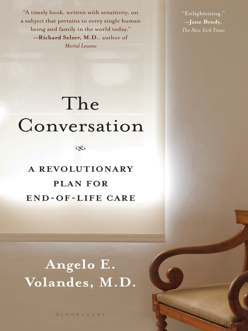 Title details for The Conversation by Angelo E. Volandes - Wait list
