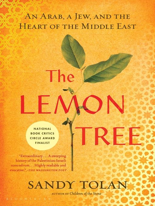 Title details for The Lemon Tree by Sandy Tolan - Wait list