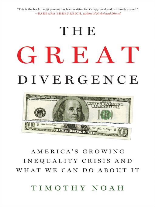 Cover of The Great Divergence