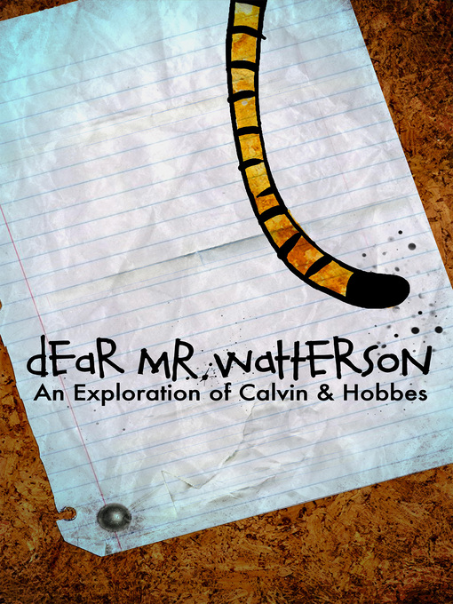 Title details for Dear Mr. Watterson by Joel Allen Schroeder - Available