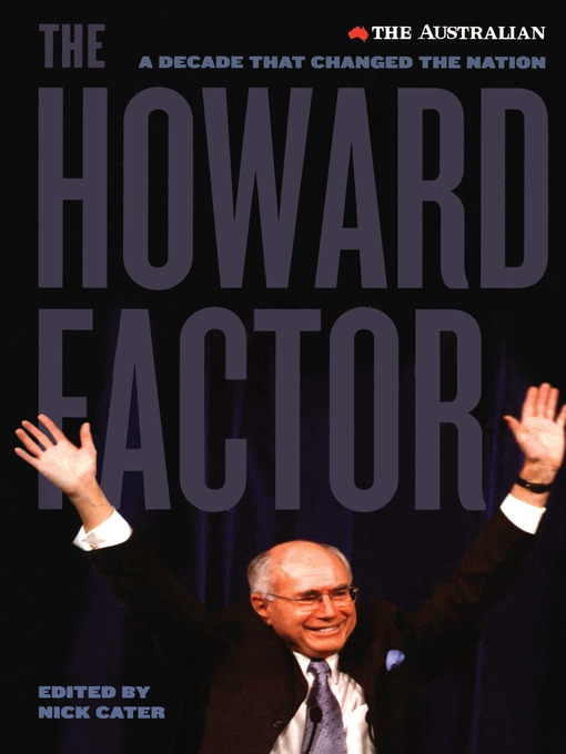 the howard government election in 1996 in australia Australia, solomon islands and ramsi for the howard government was to bolster australia's reputation in in 1996, the howard government learned about.