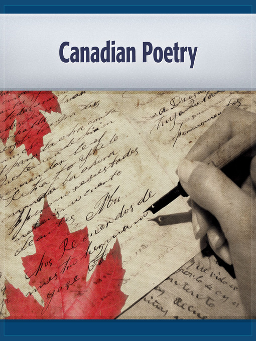 Title details for Canadian Poetry by Wilfred Campbell - Available