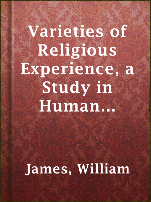 תמונת כריכה של Varieties of Religious Experience, a Study in Human Nature
