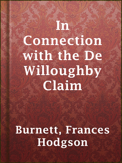 Cover of In Connection with the De Willoughby Claim