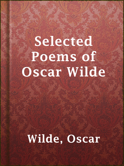Title details for Selected Poems of Oscar Wilde by Oscar Wilde - Available