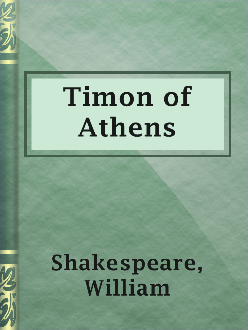 Title details for Timon of Athens by William Shakespeare - Available