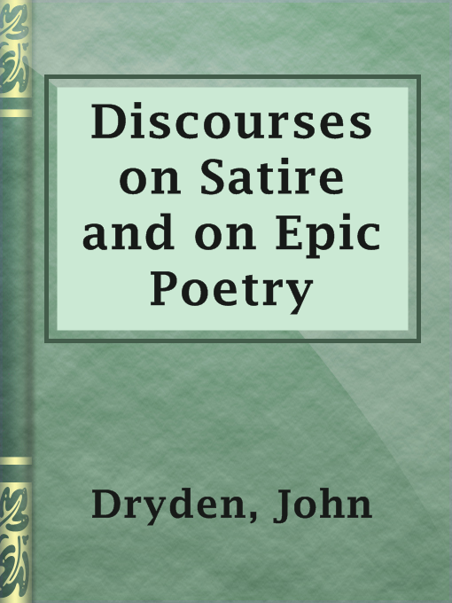 an essay on satire john dryden John dryden and his satire macflecknoe (joseph supa rdjana) 128 this condition he decides to settle the question of succession while looking for a.