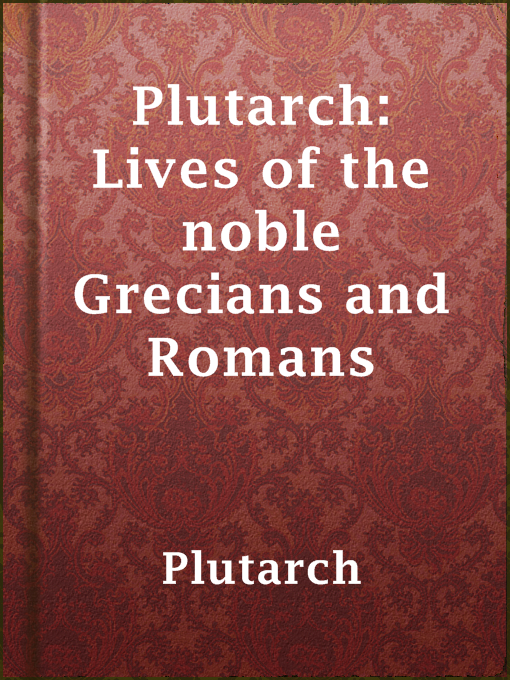 תמונה של  Plutarch: Lives of the noble Grecians and Romans
