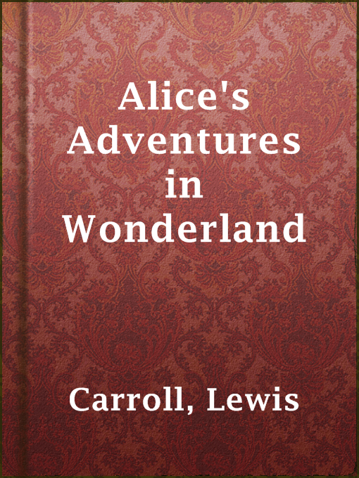Cover of Alice's Adventures in Wonderland