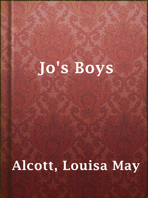 Cover of Jo's Boys