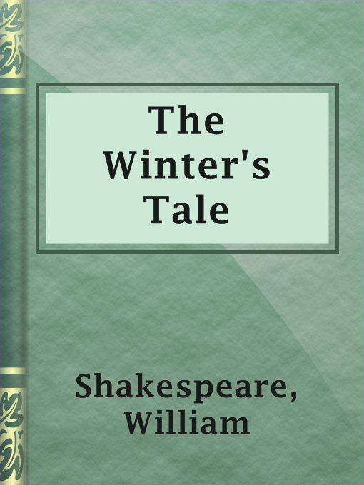 Title details for The Winter's Tale by William Shakespeare - Available