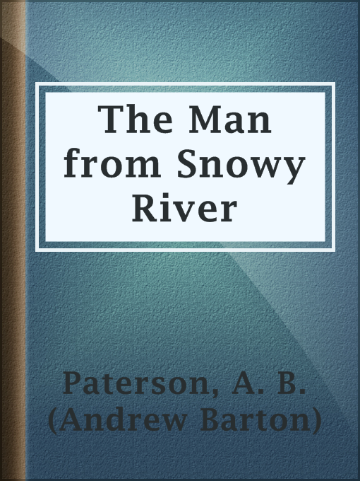 Cover of The Man from Snowy River