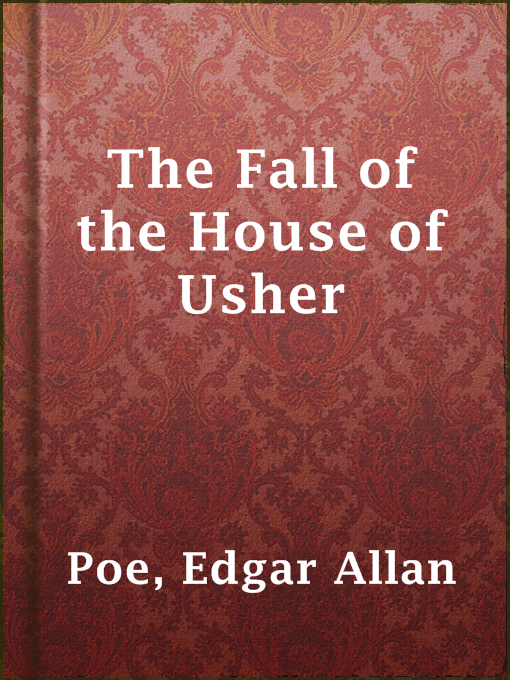 Cover of The Fall of the House of Usher