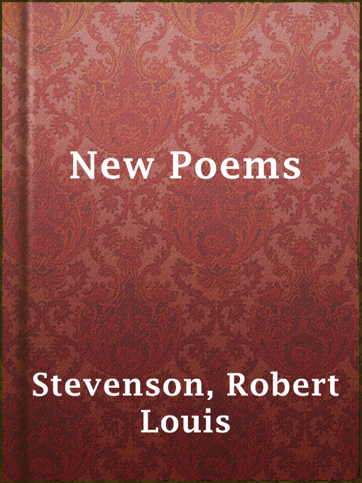 Title details for New Poems by Robert Louis Stevenson - Available