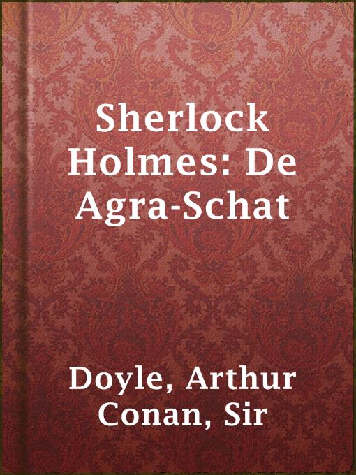 Sherlock holmes: de agra-schat